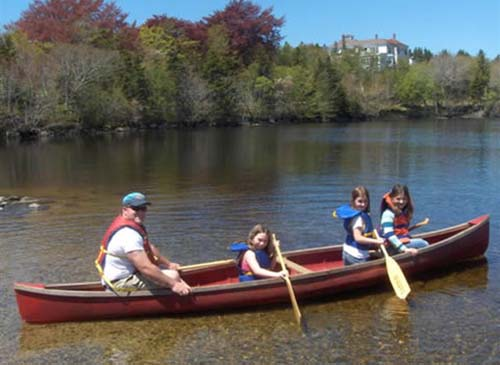 Lake Breeze Campground - canoeing