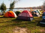 Lake Breeze Campground & Cottages group tenting