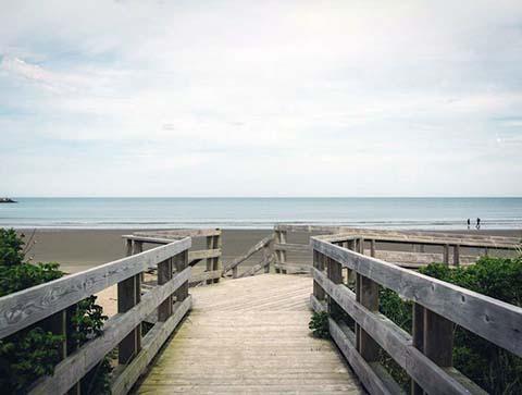 Port Maitland beach
