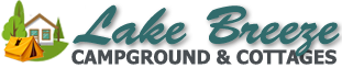 Lake Breeze Campground & Cottages logo