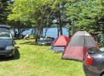Lake Breeze Campground & Cottages tents